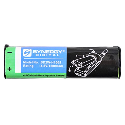 Motorola XTN Series 2-Way Radio Battery (Ni-MH 4.8V 1200mAh) Rechargeable Battery - replacement for Motorola NNTN4190 ()