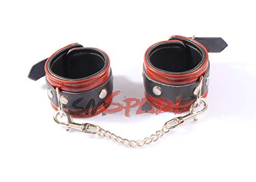 Genuine leather handcuffs, poetical leather wrist cuffs adult sex toys for couples Drop shipping