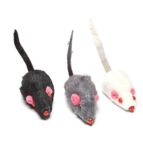 Rivenbert Juguetes para Gato: 9 Ratones de Peluche para Gatos, Un montón de diversión para su Gato! by: Amazon.es: Productos para mascotas