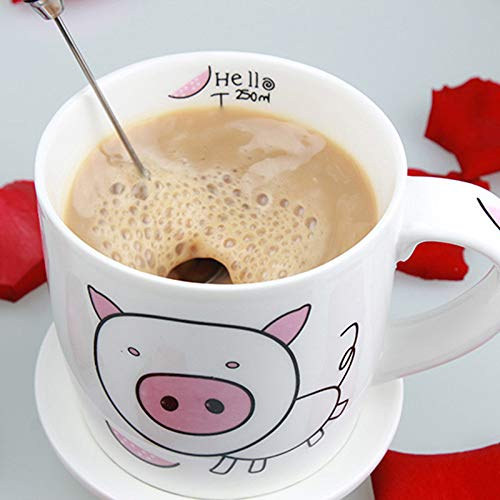 Yu2d  Fashion Hot Drinks Milk Frother Foamer Whisk Mixer Stirrer Egg Beater -