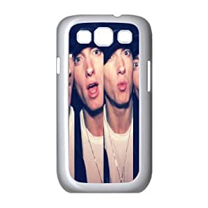 Yearinspace Eminem Samsung Galaxy S3 Cases Eminem Funny for Girls Protective, Samsung Galaxy S3 Cases for Women, [White]