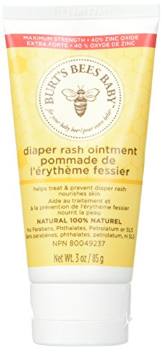 Burt's Bees Baby Diaper Rash Ointment 3 oz (Pack of 3)