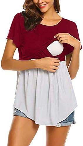 Vectry Camisetas Premama Verano Mujer Embarazadas Maternidad Lactancia Materna Camiseta Superior Blusa 2019 Tops De Mujer Nuevos: Amazon.es: Ropa y accesorios