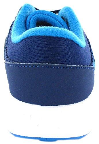 adidas Cloudfoam Race Inf, Chaussures de Tennis Mixte Enfant, Bleu (Azumis/Azusol/Ftwbla), 26 EU