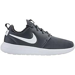 Nike Men's Roshe Two Dark Grey/Pure Platinum Running Shoe 10.5 Men US
