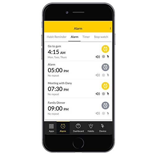 Shock Clock Wake Up Trainer - Never Hit Snooze Again