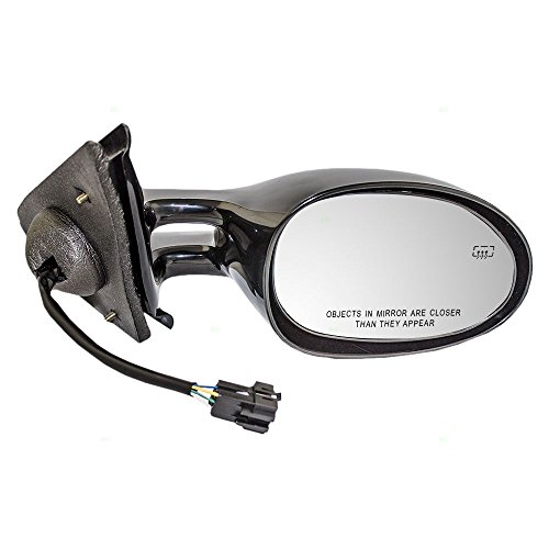 Passengers Power Side View Mirror Heated Replacement for Dodge Chrysler Plymouth 4646308 -