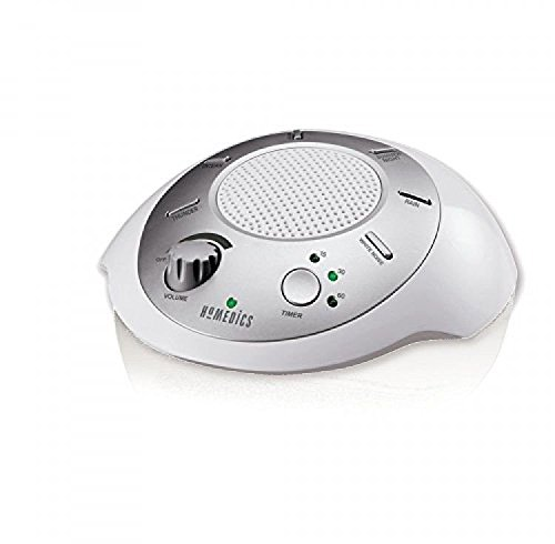 HoMedics SS-2000G/F-AMZ Sound Spa Relaxation Machine with 6 Nature Sounds,