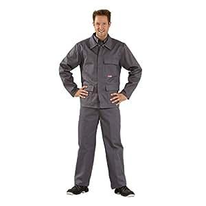 Soldador/calor protección cintura Chaqueta de Planam 360g/m², gris, 60