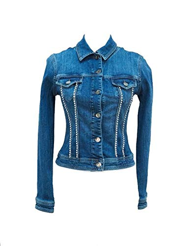 Liu Jo Jeans - Chaqueta - para Mujer Turquesa XS: Amazon.es ...