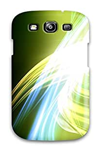 lintao diy Premium Tpu Glowing Curves Cover Skin For Galaxy S3