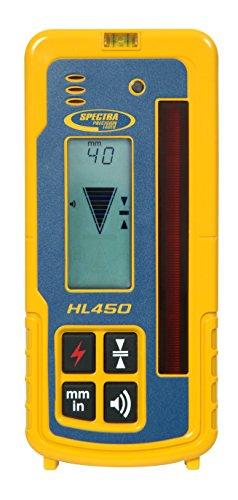 (Spectra Precision Laser HL450 Digital Laser Receiver For Any Rotating Laser)
