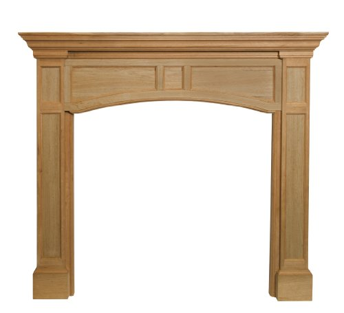 Pearl Mantels 160-48 Vance Fireplace Mantel, 48-Inch, Unfinished by Pearl Mantels