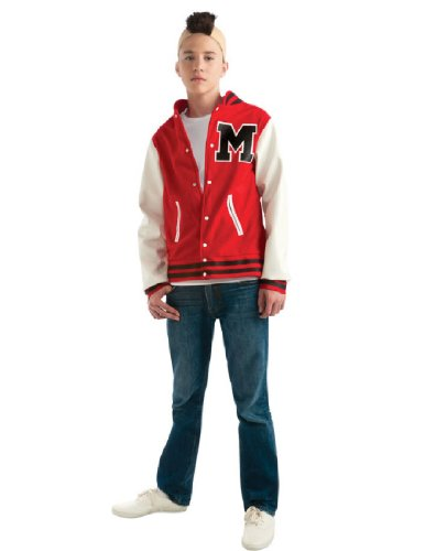 Glee Puck Football Player Teen Costume, Standard Color, One Size (2)