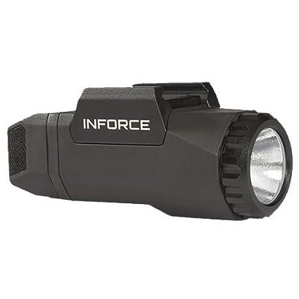 amazon com inforce auto pistol weapon mounted white led light 400