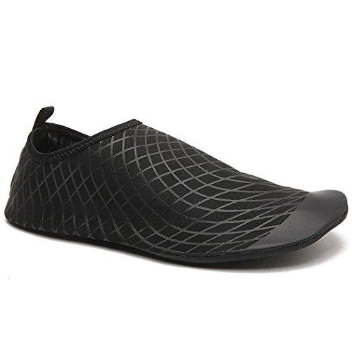 Zapatillas natación mujer hombre última de aire para intervensión Negro y para yoga unisex al Dovaly w0dzZUBqw