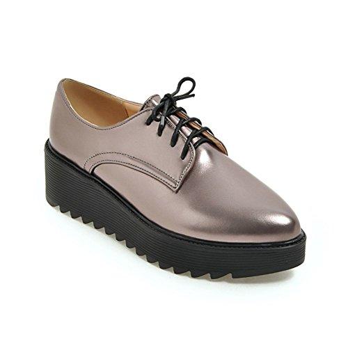 Zapatos Mujer Primavera/Zapatos de la plataforma de la cinta alrededor de la cabeza del/Estudiante cuñas zapatos de Inglaterra A