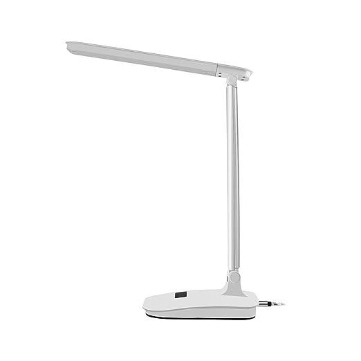 Lámpara Escritorio LED ,Lámpara de Mesa USB Recargable y Plegable ...