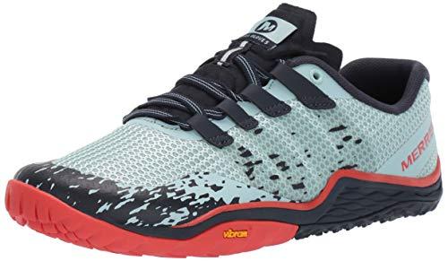 (Merrell Women's Trail Glove 5 Sneaker, Aqua, 07.0 M US)