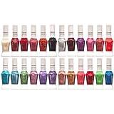 24 colores kit de laca de uñas con aplicador de 2 formas delineador pincel 3d [version:x5.1] by DELIAWINTERFEL