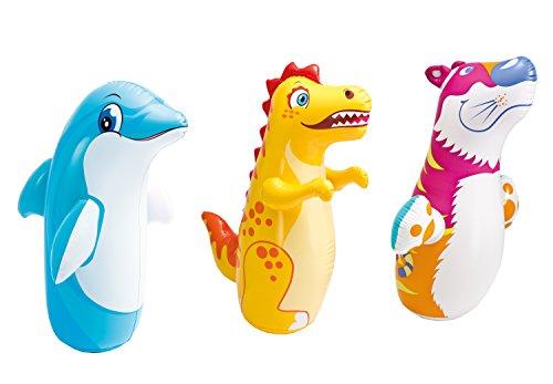 Color Baby - Animal hinchable tentetieso, 5 cm , surtido: modelos aleatorios, 1 unidad: Amazon.es: Juguetes y juegos