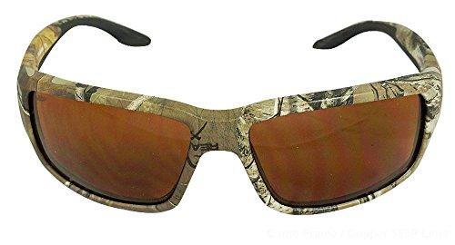 Costa Del Mar Fantail Sunglasses, Realtree Xtra Camo, Copper 580 Plastic - Camo Sunglasses Costa