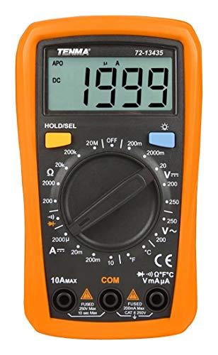 TENMA - 72-13435 - DMM, Handheld, Manual, 2000 Count