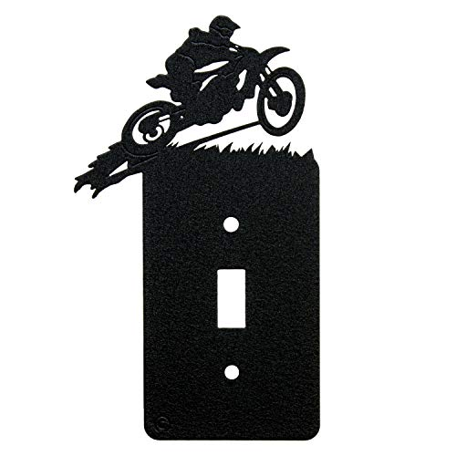 Motocross Toggle Light Switch Wall Plate