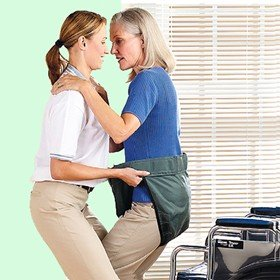 Patient Lift Systems - Mobility Transfer System (a) Safetysure Mary'S Aide Transfer Sling