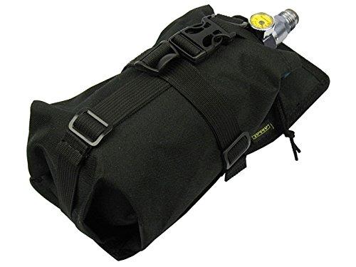 tactic.world Air Tanks Pouch Bag M.O.L.L.E Horizontal Waterproof (0,8-1,8L) 35ci 48ci 50ci 68ci (Black v2) ()