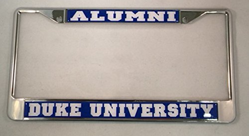 Amazon.com: Duke Univesity Blue Devils Alumni License Plate Frame ...
