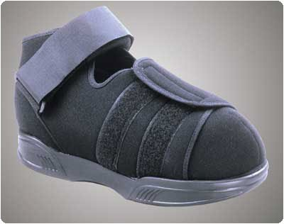 Pressure Relief Walker and Shoe Pressure Relief Shoe. Size: XL, Shoe Sizes; Men's:; 11½-14, Women's:; 13+ by Rolyn Prest