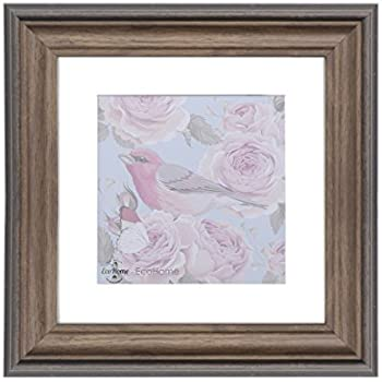 Amazon 11x11 Picture Frame Square Beige Distressed Matted To