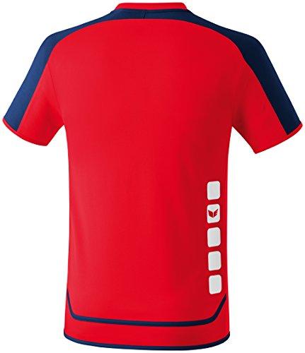 Erima Trikot Zenari 2.0 - Camiseta de fútbol Rot/New Navy