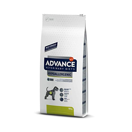 Advance Avance Veterinary Diets Hypoallergenic – Pienso hipoalergénico para Perros con intolerancias alimentarias – 10 kg