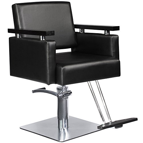 Review Barber Beauty Salon Equipment Hydraulic Hair Styling Chair Package 4 x SC-10BLK