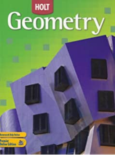 Printables Holt Geometry Worksheets amazon com holt geometry textbook student edition 2007