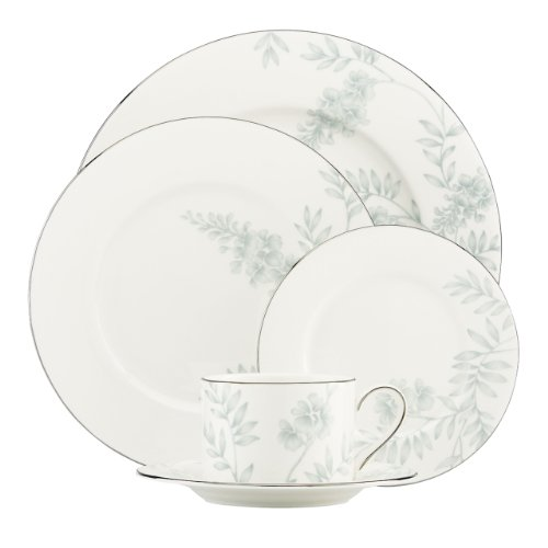 Lenox 823069 Wisteria 5-Piece Place Setting, White