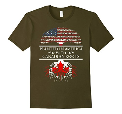 mens-canada-american-canada-america-flag-canadian-roots-t-shirt-large-olive