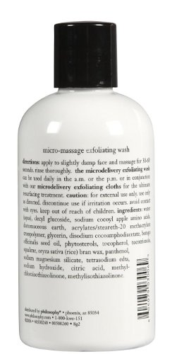 Philosophy Microdelivery Exfoliating Wash, 8 Ounces