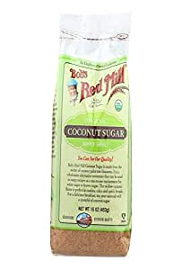 Bobs Red Mill Coconut Sugar, 16 Ounce