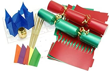 10 x make your own 14 red green christmas cracker kit amazon 10 x make your own 14quot red green christmas cracker kit solutioingenieria Gallery