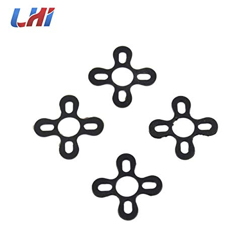 Part & Accessories NEW Motor Damping Seat FPV Drone Cushioning Pad Shock Vibration Absorber Mount Seat for 2204 2205 22XX series Motor accessories - (Color: 4 PCS) ()