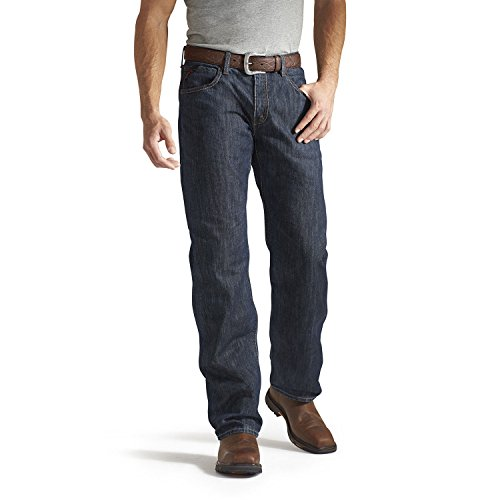 Ariat Men's Flame Resistant M3 Loose Fit Jean, Shale, 40x32