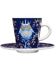 iittala Taika Blue Espresso Cup and Saucer sale off 2017