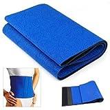 Coromose Fat Cellulite Burner Slimming Exercise Waist Belt Body Wrap