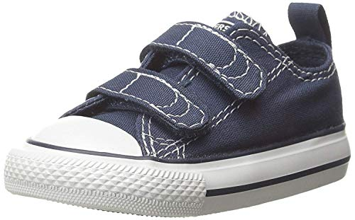 Converse Boy's Chuck Taylor All Star 2V Infant/Toddler - Athletic Navy - 4 M US Toddler