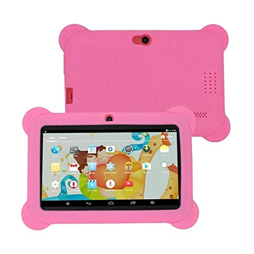 Xyamzhnn With Silicone Case Double Camera, FM, OTG, Bluetooth, WiFi, Android 4.4 Allwinner A33 Quad Core, 512MB+8GB, 7.0…