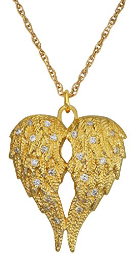 Cremation Memorial Jewelry: Gold Plated My Angel Companion