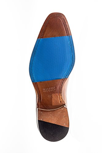 Jose Real Chaussures Amberes Collection | Mocassin Homme Marron Marron Véritable Réel Italien Bébé Veau Cuir Robe Chaussure Tan